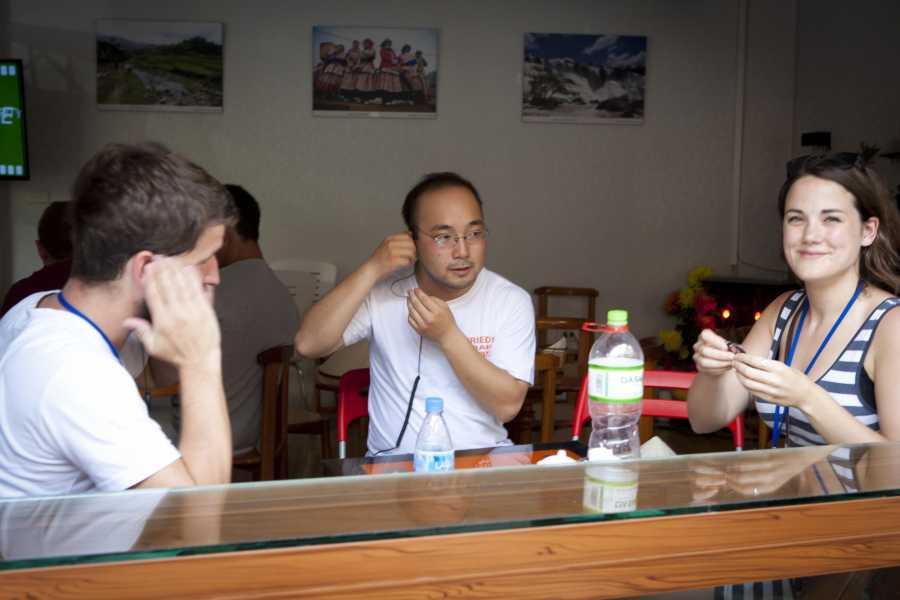 Friends Travel Vietnam Hanoi Walkie Talkie Tour