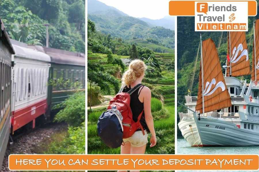 Friends Travel Vietnam DEPOSIT PAYMENT