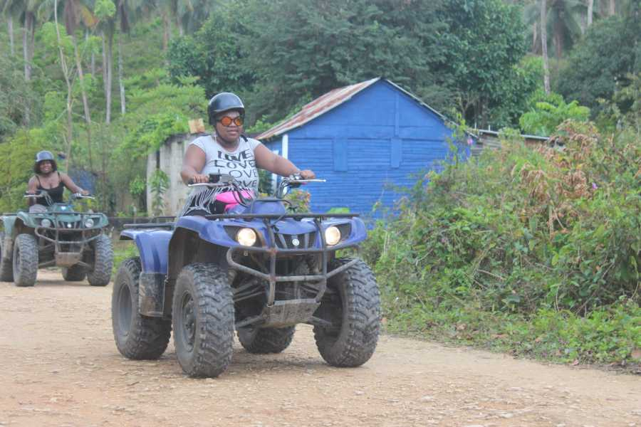 Tour Samana With Terry Shore Excursion #3 - Waterfalls, Beach & Culture on ATV-Quad