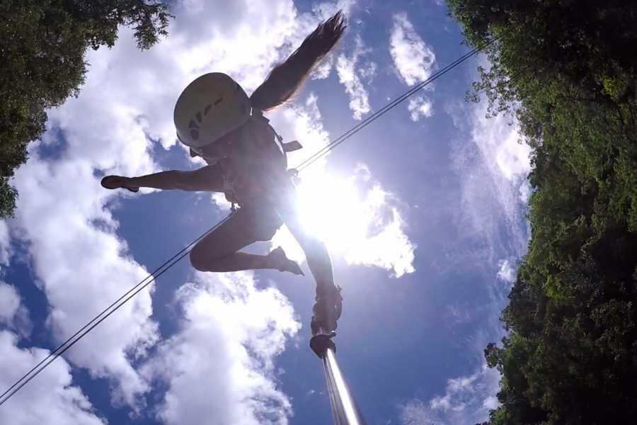 Tour Samana With Terry Shore Excursion #3a - Quad-ATV+Walk the Plank Zip Line