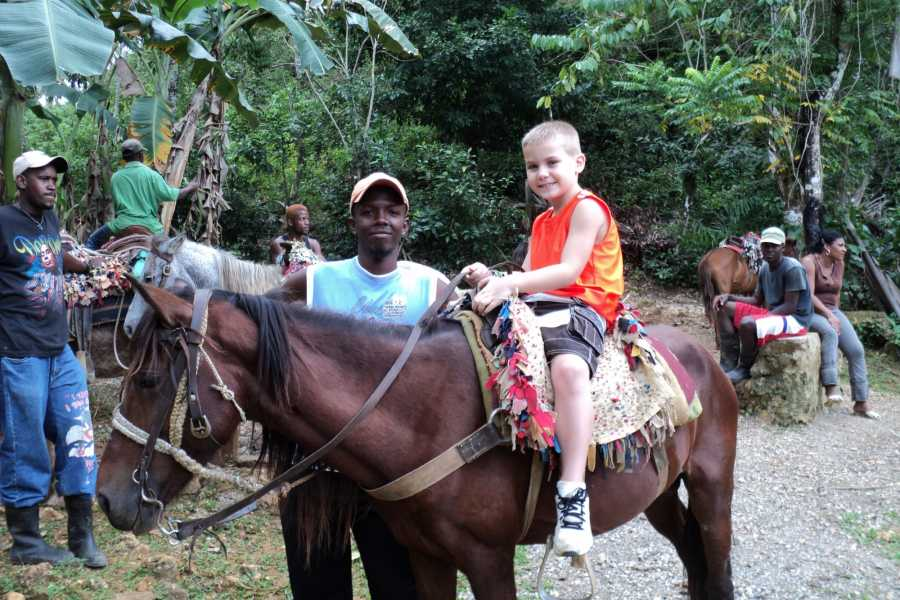 Tour Samana With Terry HOTEL EXCURSION #1: EL Limon Waterfalls on Horseback or Hike
