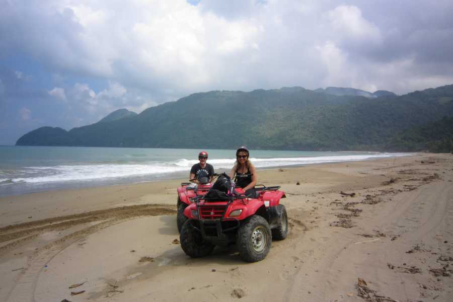 Tour Samana With Terry HOTEL EXCURSION #3:  Culture, Beach and Waterfalls ATV Quads