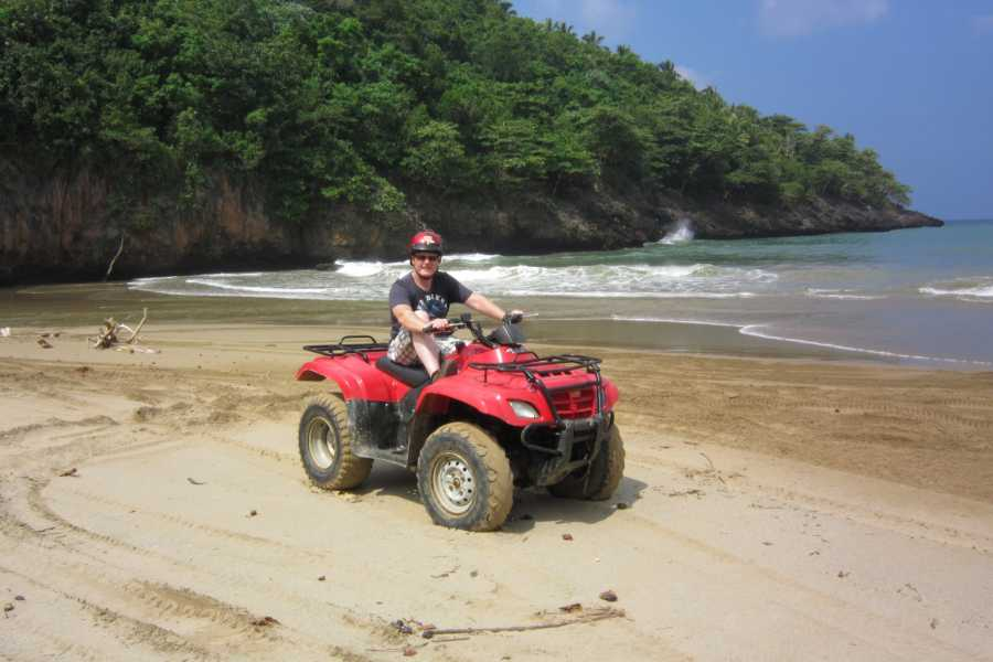 Tour Samana With Terry HOTEL EXCURSION #12:  Culture and Beach Tour on ATV Quads El Portillo & Las Terrenas