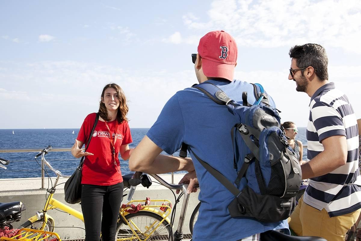 SANDEMANs NEW Barcelona Tours Tour de Barcelona en bicicleta
