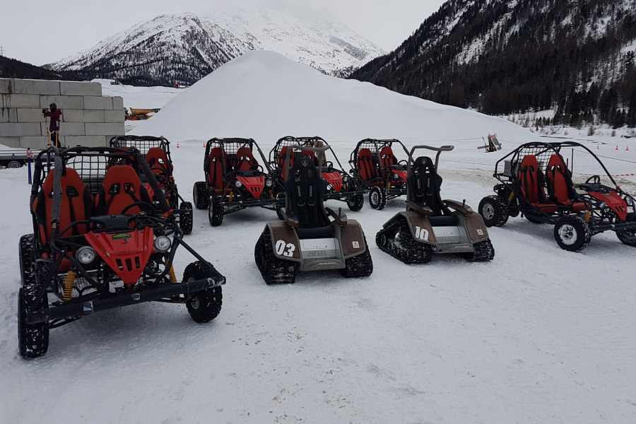 BuggyPark by HB-Adventure Switzerland Parkmiete für Gruppen (Winter)