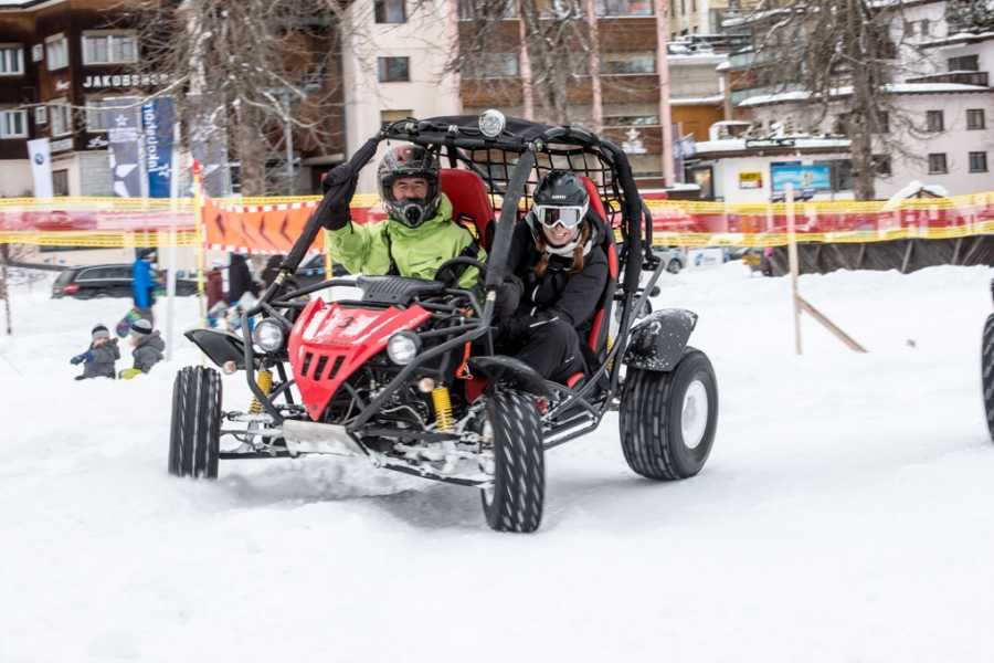 BuggyPark by HB-Adventure Switzerland Reservation one Buggy for 25 minutes in Winter