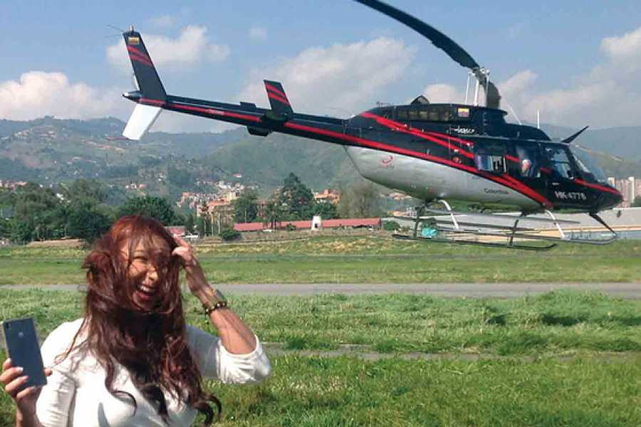 Medellin City Services Medellin Helicopter Flight