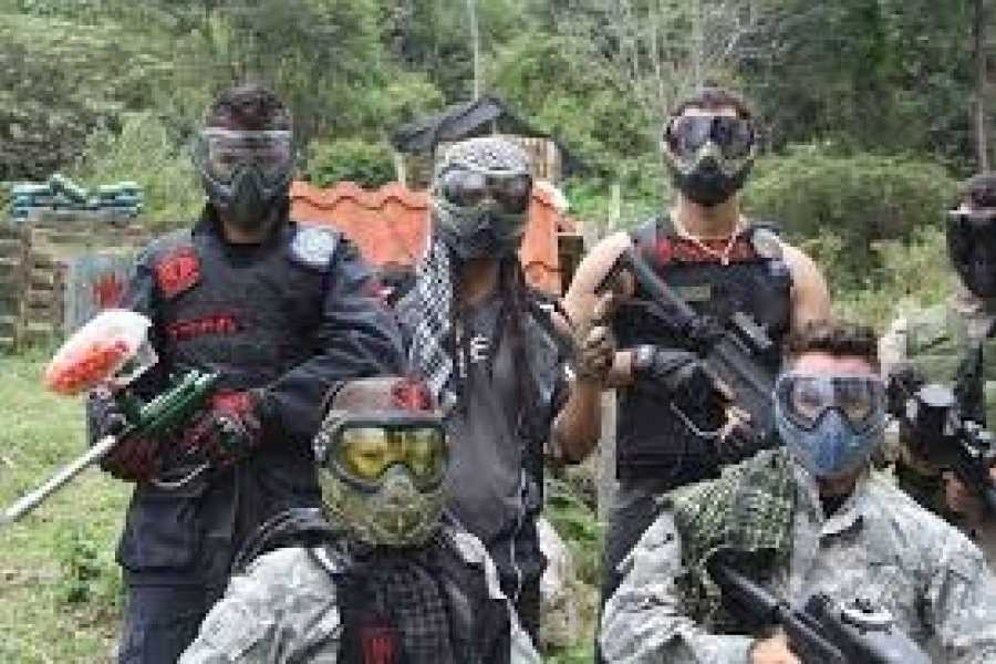 Medellin City Tours PAINTBALL PARTY TOUR