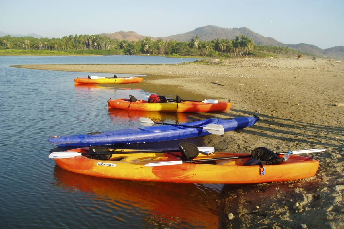 COSTA NATIVA ECOTOURS KAYAKING AT LA BOCA ESTUARY