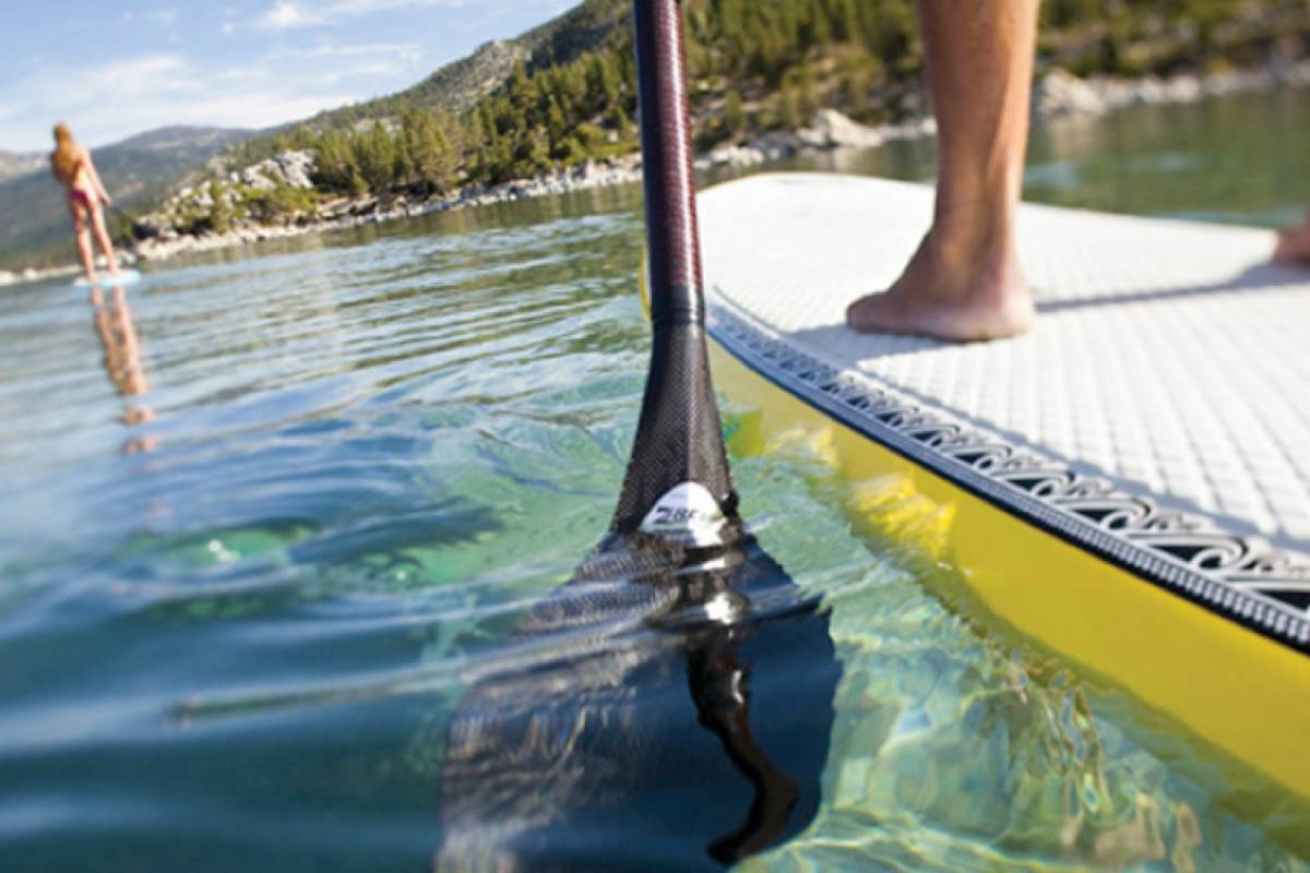 Blue Waters Caribbean Adventures SUP Paddle boarding