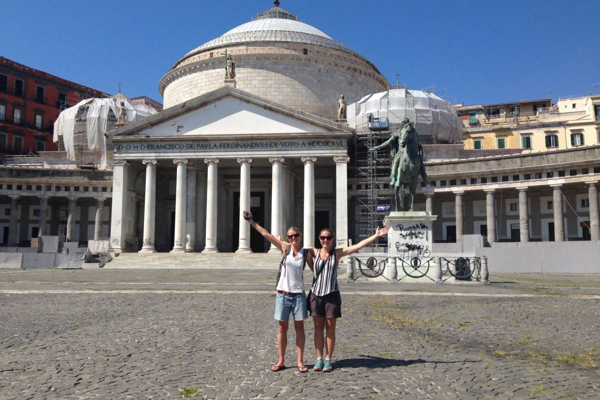Italy on a Budget tours NAPLES & POMPEII day tour from Rome