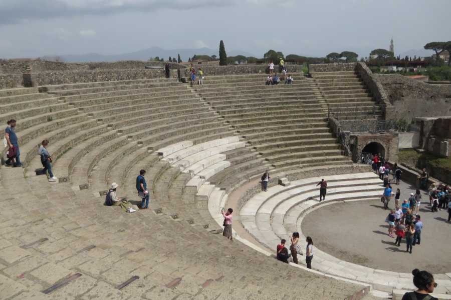 Italy on a Budget tours NAPLES & POMPEII day tour from Rome by train