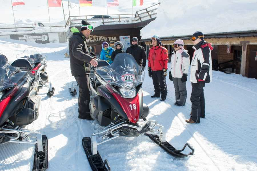 HB Adventure Switzerland AG Snowmobile Tour 6:  Splugen Pass and Lago Nero
