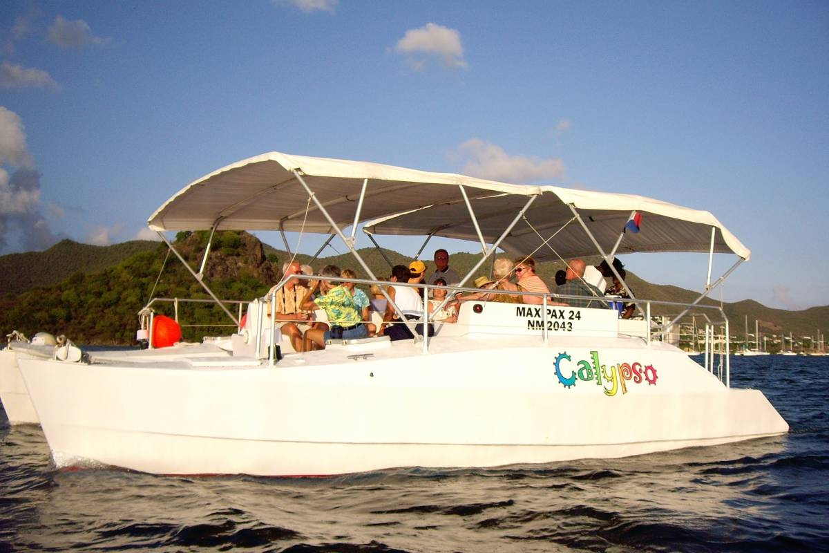 Aqua Mania Adventures CALYPSO DINNER CRUISE TO MARIGOT