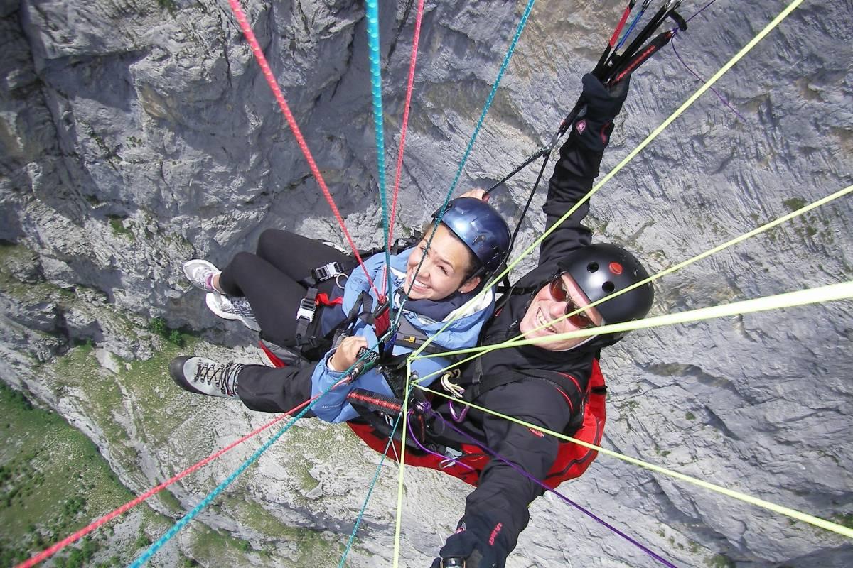 Star Paragliding, Switzerland 5 - THE WALL STAR