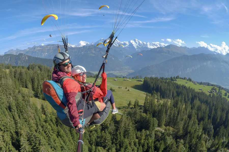 "Paragliding Interlaken GmbH Parapente ""Big Blue"""