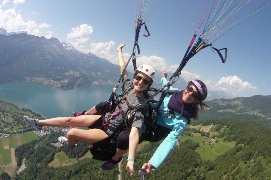 "Paragliding Interlaken GmbH Paragliding ""Big Blue"" Summer"
