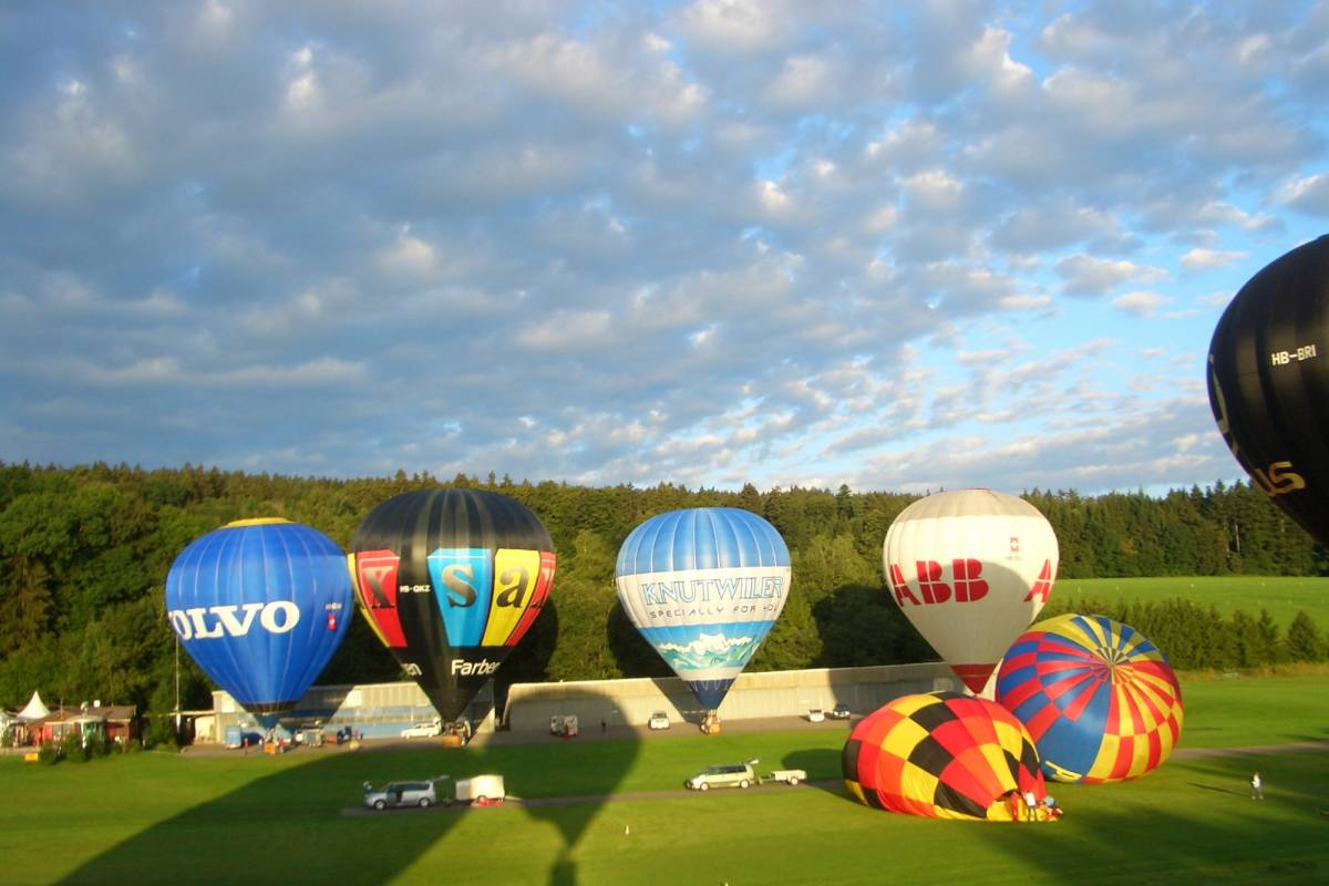HB Adventure Switzerland AG Balloon Ride Central Switzerland