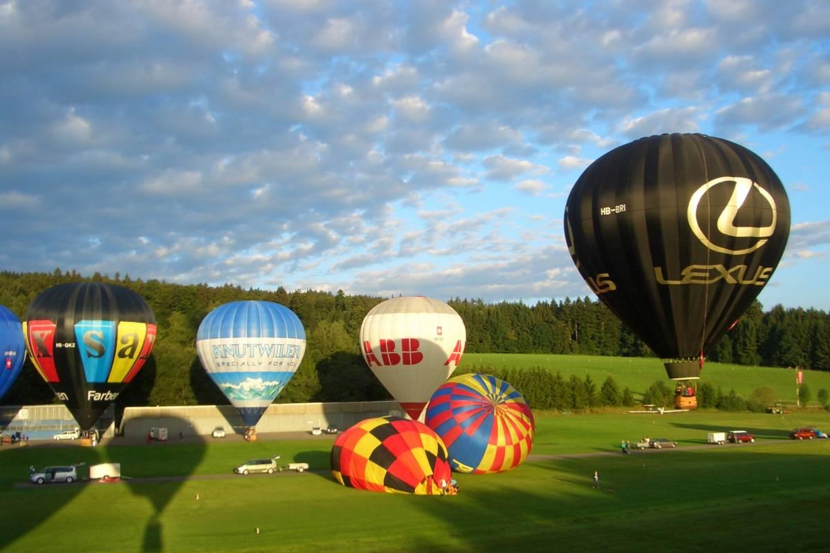 HB Adventure Switzerland Heissluftballonfahrt Mittelland