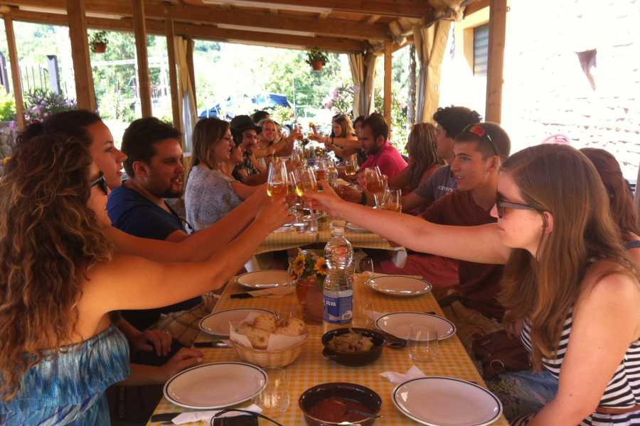 Tuscany on a Budget tours THE TASTE OF TUSCANY PLUS with dinner at a Tuscan farm