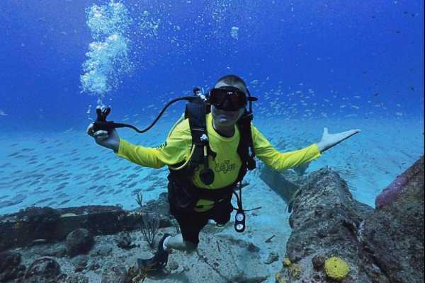 02. SCUBA SINGLE DIVE (1 dive) for Certified Divers