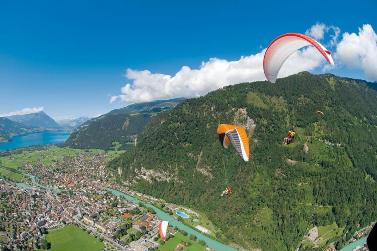 Skywings Beatenberg Paragliding - The Sensational