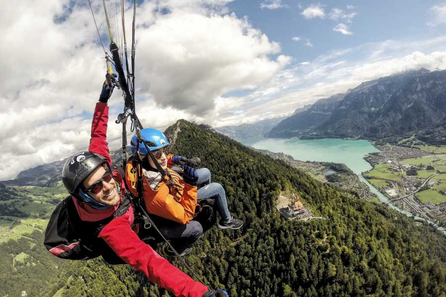 Skywings Paragliding Tandem Paragliding - The Sensational