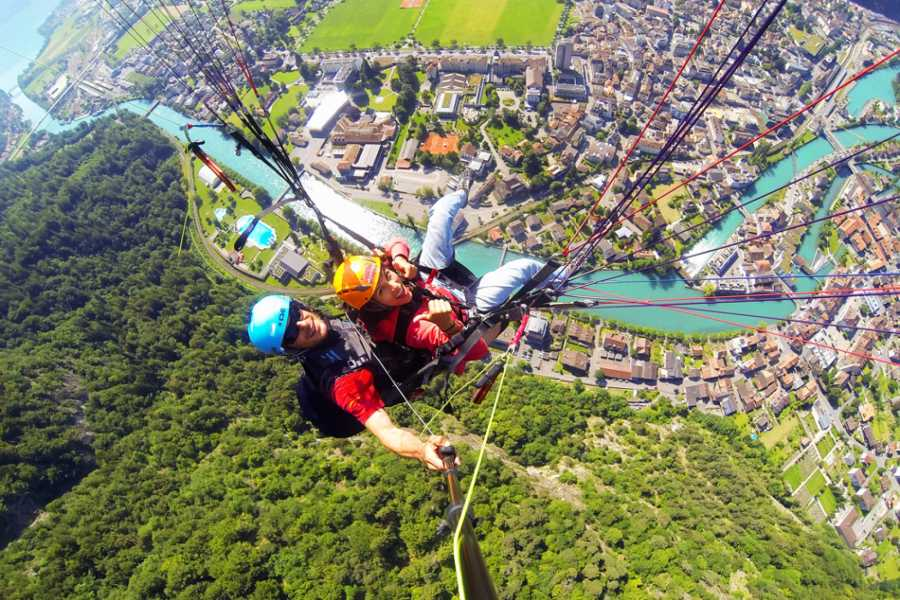 Skywings Tandem Paragliding - The Sensational
