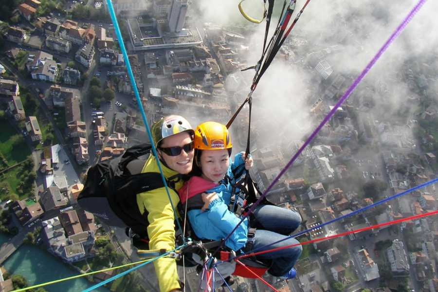 Skywings Beatenberg Paragliding - The Sensational