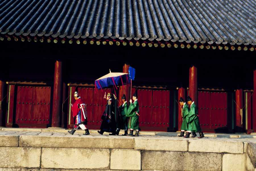 Kim's Travel KD 08 Jongmyo Shrine, Secret Garden & Unhyungung Palace