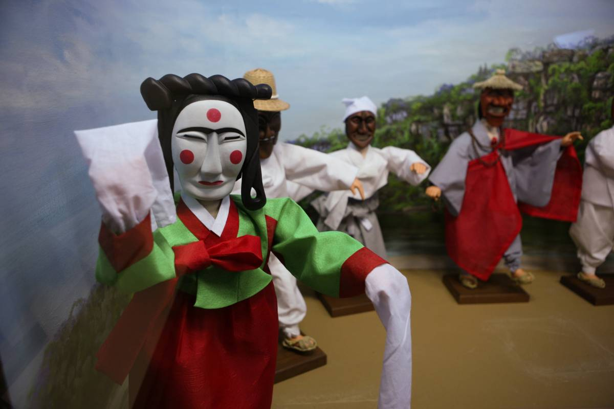 Kim's Travel 32 Andong Hahoe Folk Village Day Tour