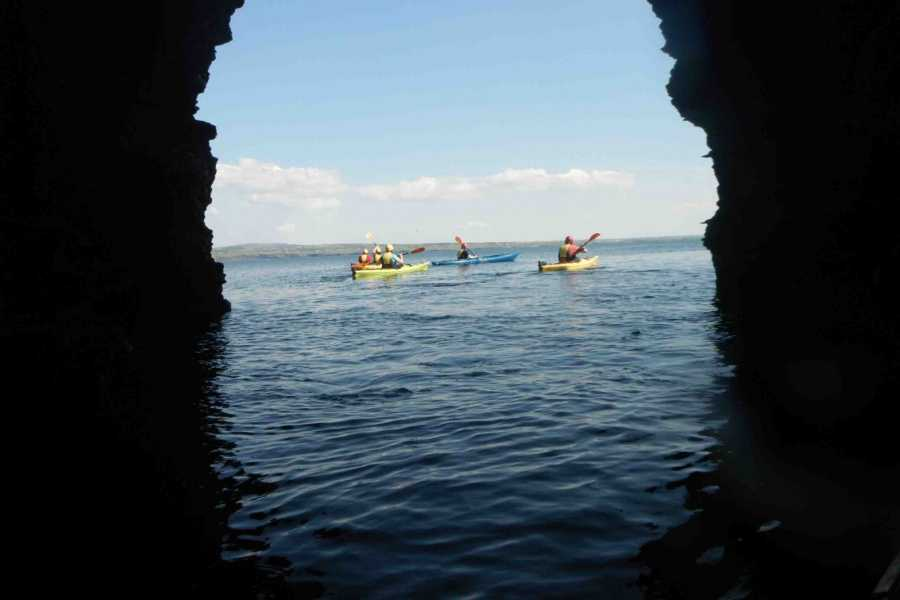 North Clare Sea Kayaking/Burren Way Mountain Bike Tours 2. Cliffs and Caves – Liscannor Bay