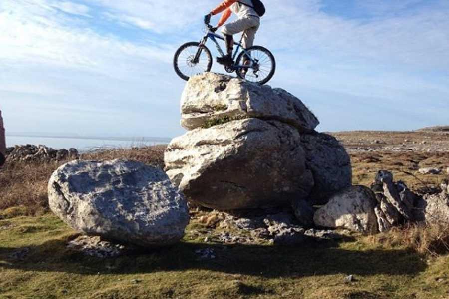 North Clare Sea Kayaking/Burren Way Mountain Bike Tours 6. MTB - Over the Hills & Far Away