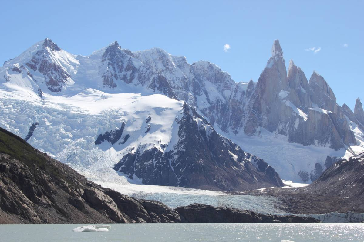 Patagonia Hikes 2- Day hiking tour from El Chalten with camp night.