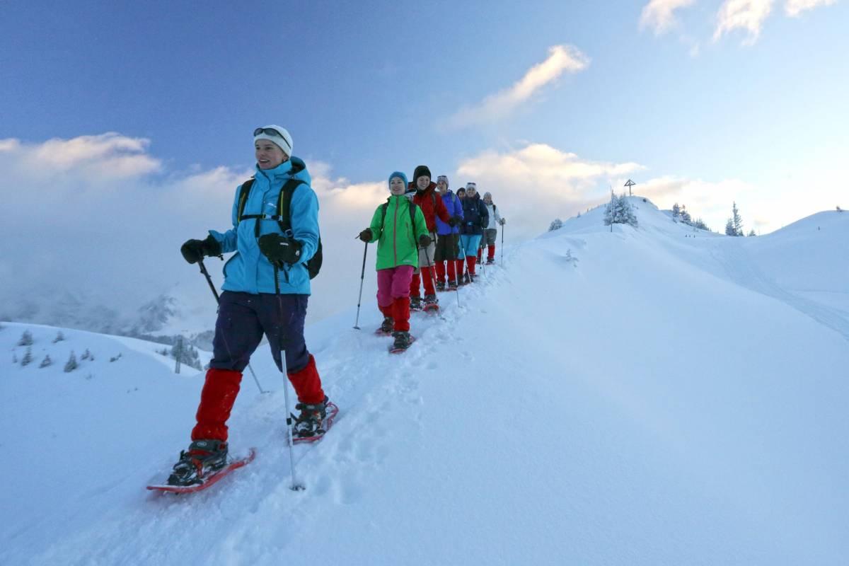 Andermatt Adventure - Crown of Alps AG Schneeschuhwandern (3.5h) mit Fondue