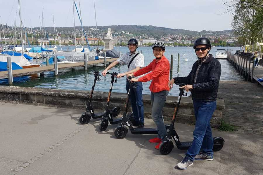 Segway City Tours by HB-Adventure E-Scooter Tour Zürich