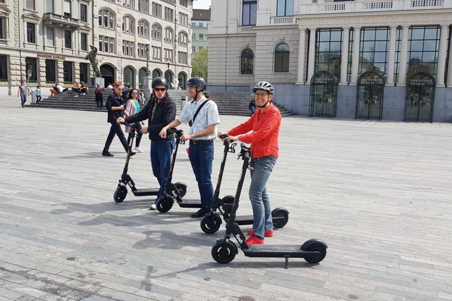 Segway City Tours by HB-Adventure Guided E-Scooter Tour Zurich