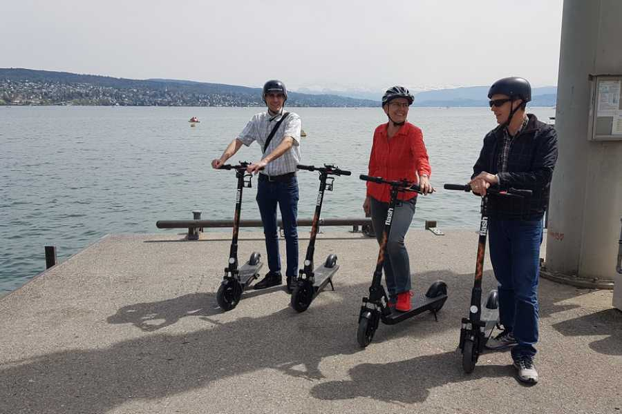 Segway City Tours by HB-Adventure Guided Flash E-Scooter Tour Zurich