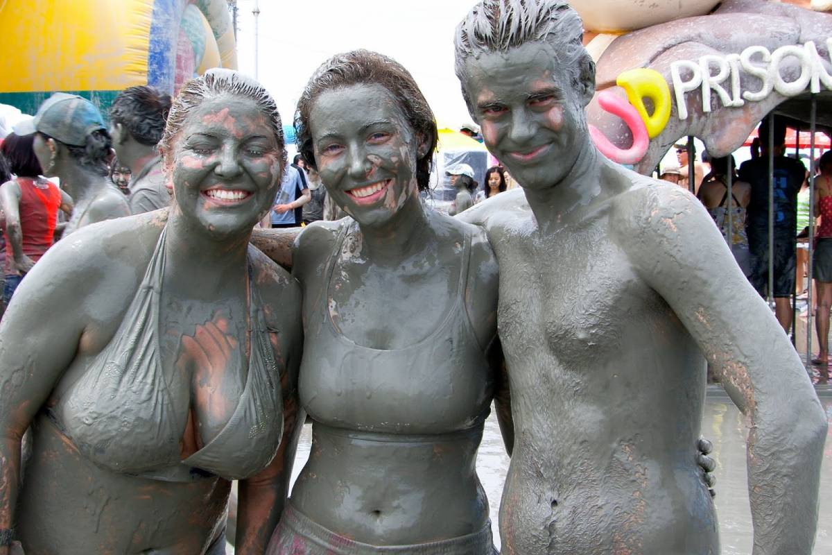 Kim's Travel Boryeong Mud Festival