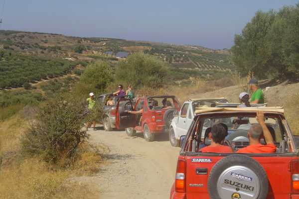 (AGENTS ONLY) Jeepsafari Chersonissos