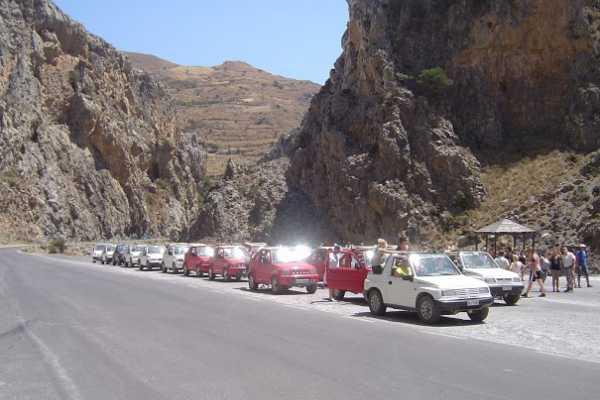 (AGENTS ONLY) Jeepsafari Rethymnon