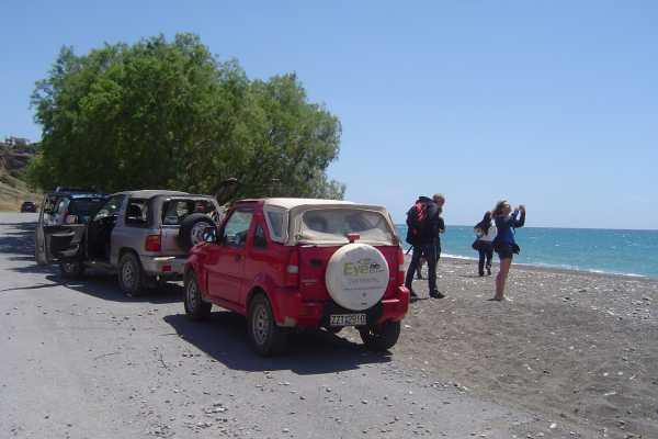 (AGENTS ONLY) Jeepsafari South coast from Hersonissos