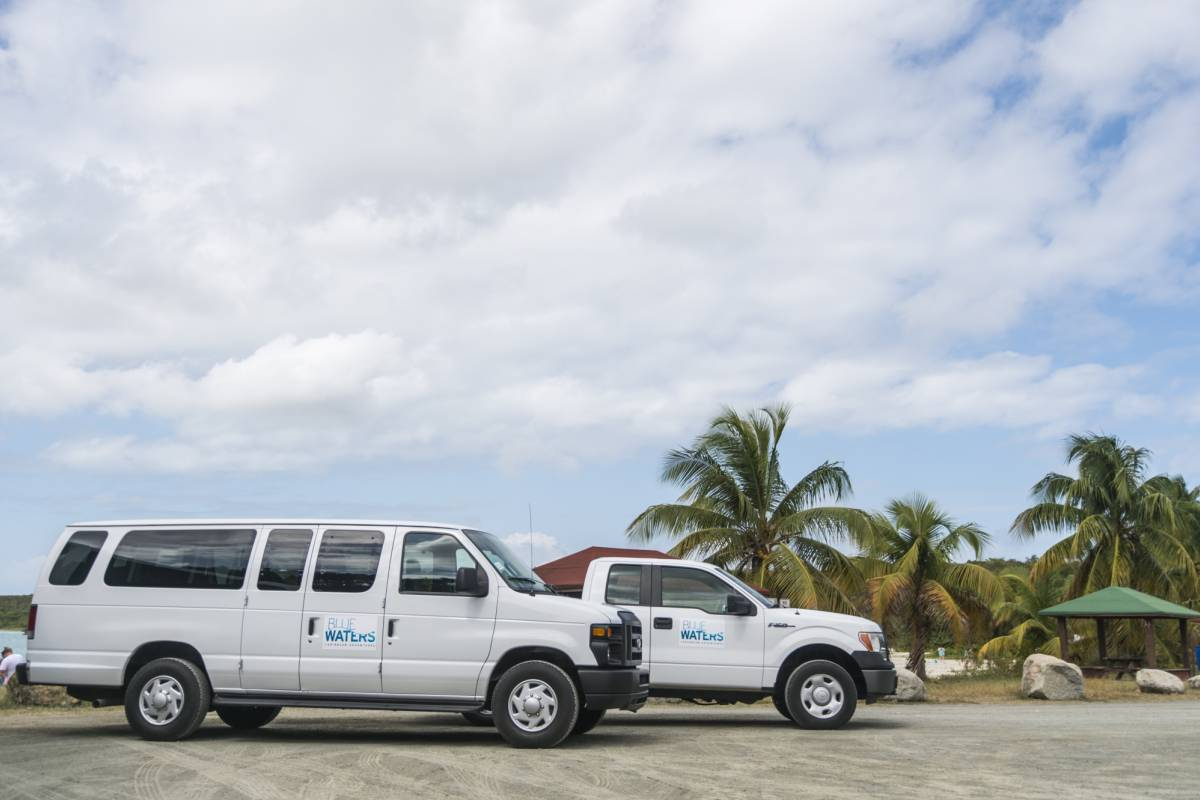Blue Waters Caribbean Adventures Shuttle Service