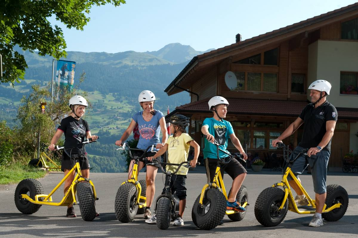 Outdoor Interlaken AG Virée en trottinette géante