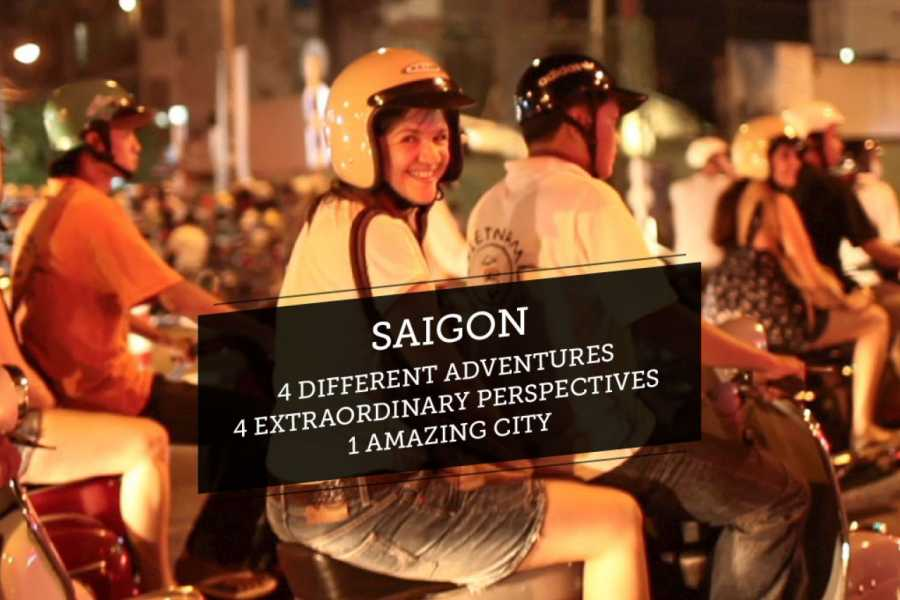 Friends Travel Vietnam The Real Saigon Vespa Experience