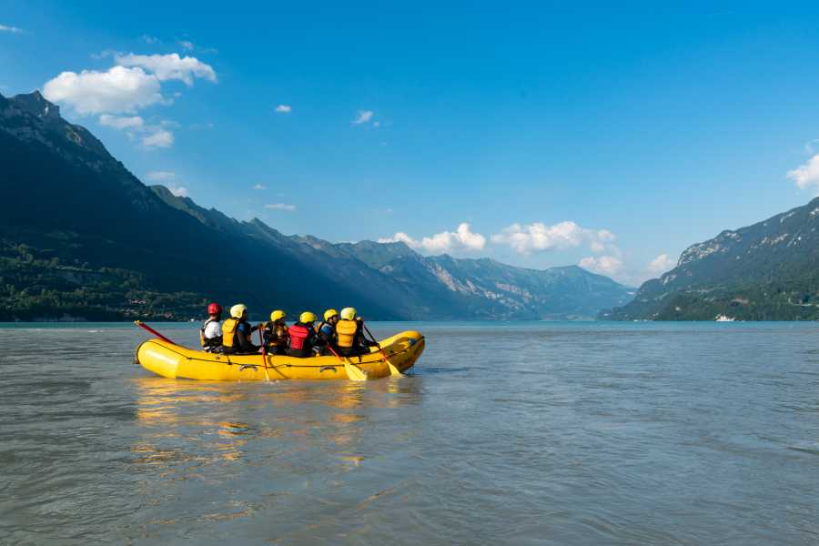 Outdoor Interlaken AG Familien Rafting