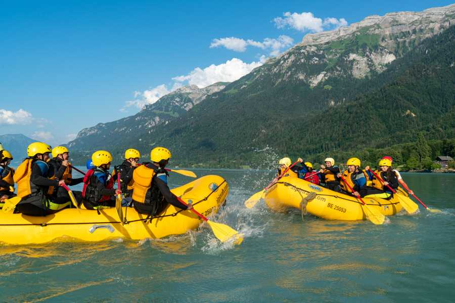 Outdoor Interlaken AG 家庭漂流之旅(FAMILY RAFTING)