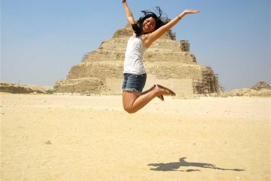 EMO TOURS EGYPT TAG TOUR ZU GIZA PYRAMIDE SPHINX MEMPHIS STADT UND SAKKARA