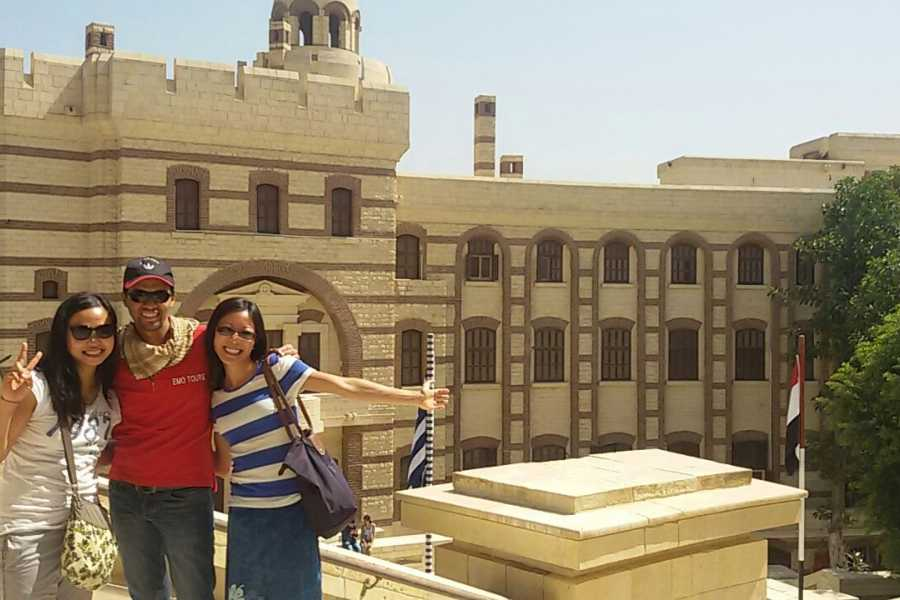 EMO TOURS EGYPT Day Trip to Egyptian Museum Old Cairo & Bazaar