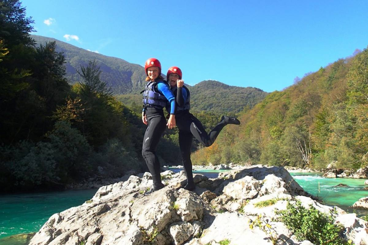 HungaroRaft Kft Rafting on Soča river, Bovec, Slovenia